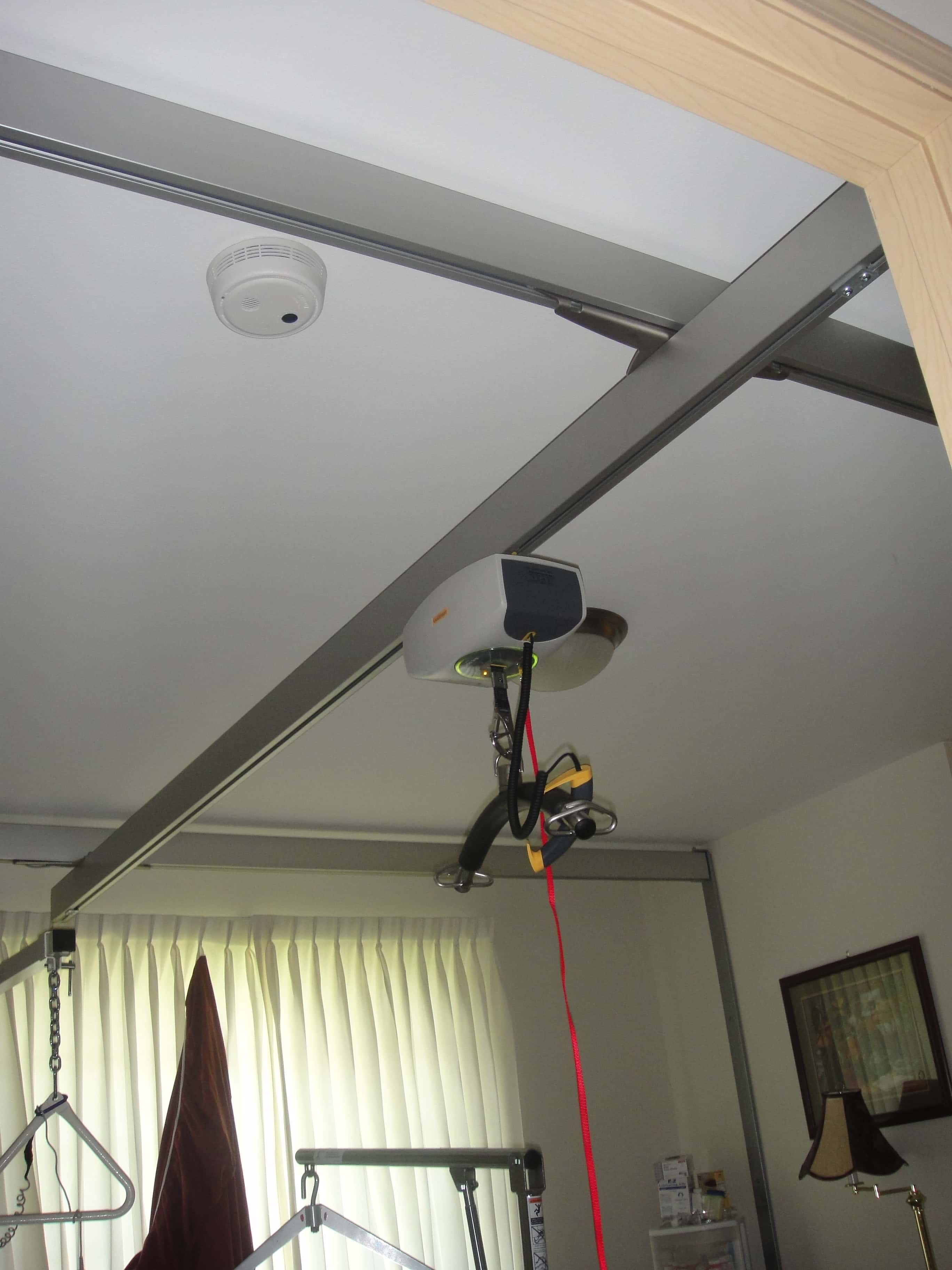 ceiling track lifts - access and mobility