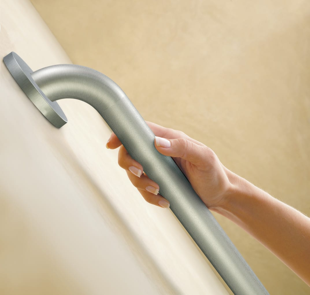 Grab bar access and mobility for Elevator grab bars