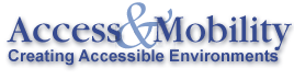 Access and Mobility Text Logo