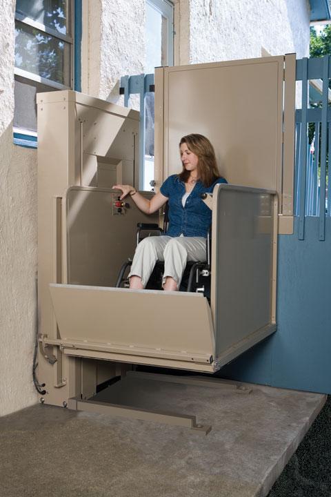 Vertical Platform Wheelchair Lifts Access Amp Mobility